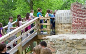 visit the active learning center and learn about life on the canal
