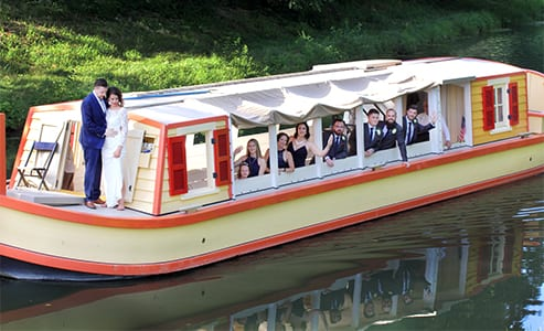 get married on the delphi on our peaceful canal