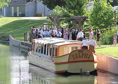 take your wedding party for a ride on the delphi