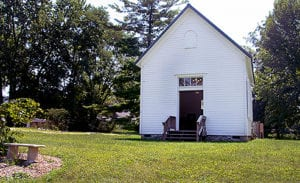 have a quaint wedding at our little white church