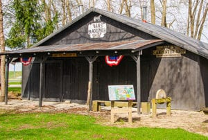 take a fun tour of this historic blacksmith shop at our pioneer village