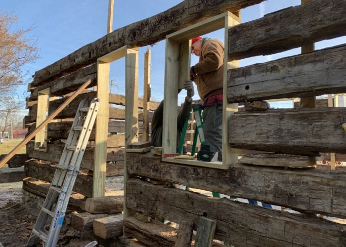 see how you can help with historic cabin restoration