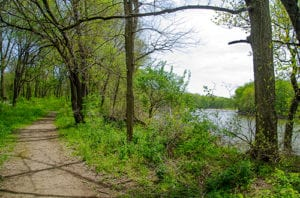 our canal park has over ten miles of beautiful trails