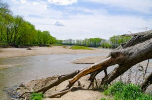 view nature and the wabash with our many hiking trails
