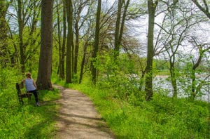 catch beautiful views of the canal as you hike the vanscoy trail