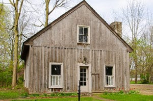 visit the bowen cabin in our historical pioneer village
