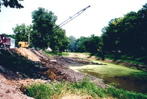our detailed canal restoration began in 1999