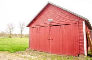 see how school was conducted in the past in the red schoolhouse