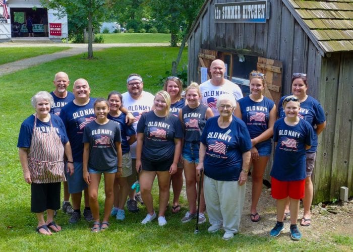 meet our summer kitchen crew volunteers at the wabash and erie canal