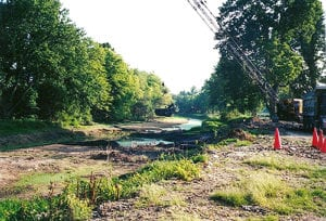 the wabash and erie canal was restored to preserve history