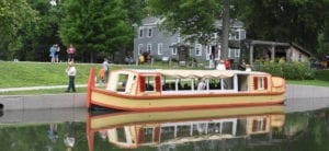 ask about group tours for our canal boat the delphi