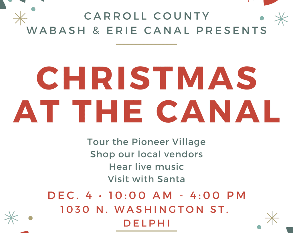 CHRISTMAS AT THE CANAL