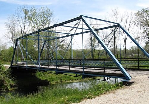 see the last iron stearns truss bridge to exist in the us