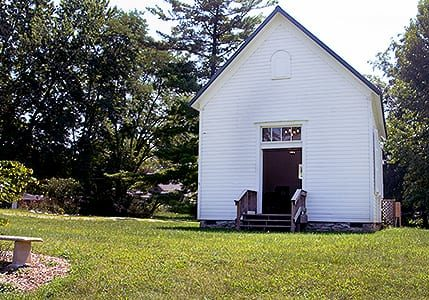 have a quaint wedding at our little white church