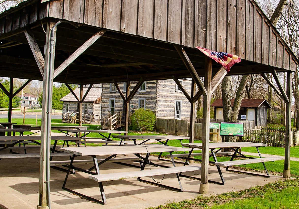 have an outdoor family reunion with our picnic shelters