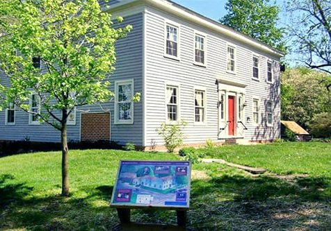 take a tour of the reed case house from 1844 at the wabash and erie canal